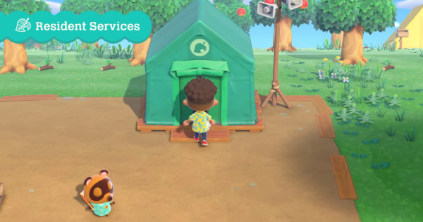 ACNH | Resident Services - How To Upgrade | Animal Crossing - GameWith