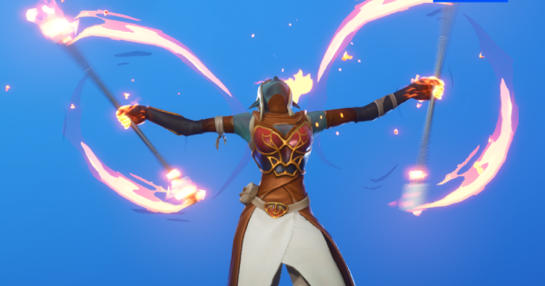 Fortnite | FIRE SPINNER Emote - How To Get - GameWith