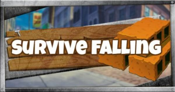 Fortnite | Survive Falling by Building