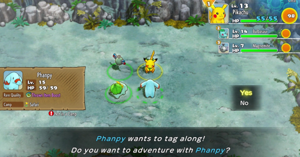 Pokemon Mystery Dungeon DX | How To Recruit Pokemon - GameWith