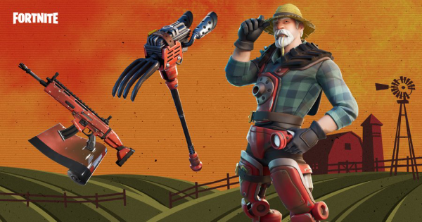 Fortnite | FARMER STEEL Skin - Set & Styles - GameWith