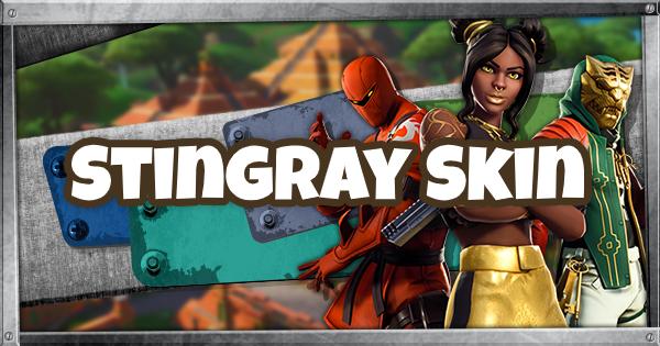 Fortnite | STINGRAY Skin - Set & Styles - GameWith
