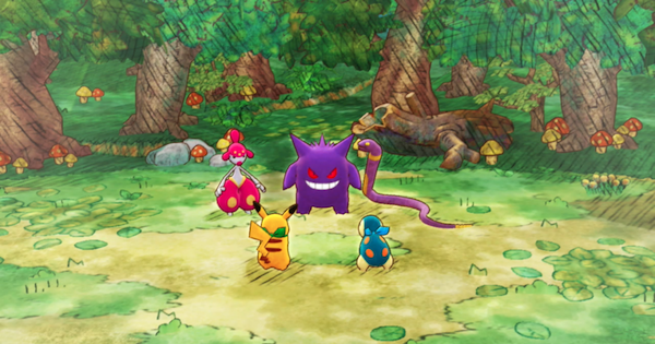 Pokemon Mystery Dungeon DX | Up To Sinister Woods - Story Walkthrough - GameWith