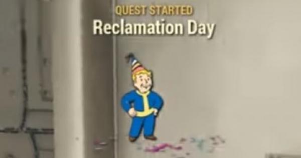 Fallout 76 | Reclamation Day - Quest Walkthrough