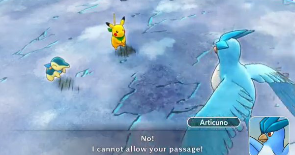 Pokemon Mystery Dungeon DX | Up To Frosty Forest - Story Walkthrough - GameWith