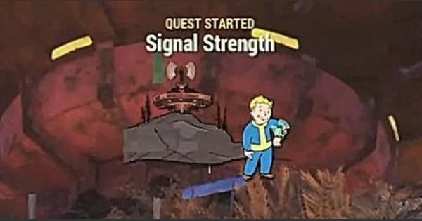 Fallout 76   Signal Strength - Quest Walkthrough - GameWith