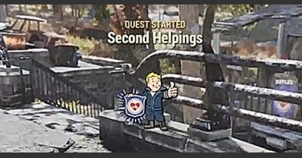Fallout 76 | Second Helpings - Quest Walkthrough