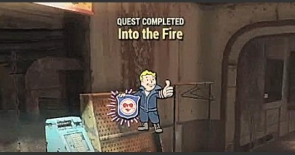 Fallout 76 | Into The Fire - Quest Walkthrough - GameWith