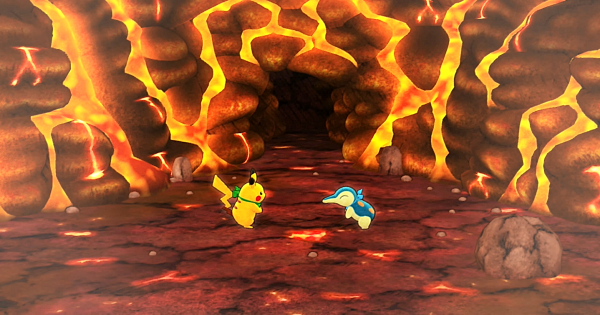 Pokemon Mystery Dungeon DX | Up To Magma Cavern - Story Walkthrough - GameWith