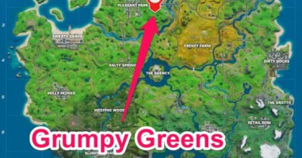 Fortnite | Visit Grumpy Greens, Mowdown, and Risky Reels - TINTina Challenge