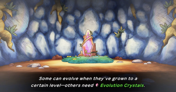 Pokemon Mystery Dungeon DX | Evolution Crystal - How To Get & Use - GameWith