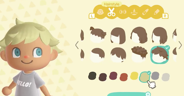 ACNH | Hair & Face List | Animal Crossing - GameWith