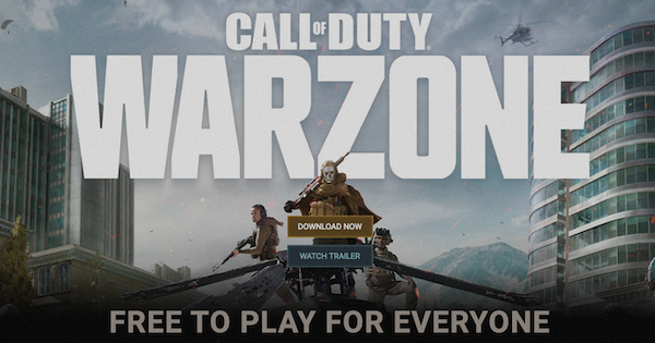 Warzone | Is Warzone, Multiplayer Free To Play ? | Call of Duty Modern Warfare - GameWith