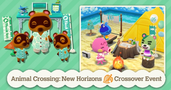 ACNH | Pocket Camp Crossover Event - Furniture & Rewards | Animal Crossing - GameWith