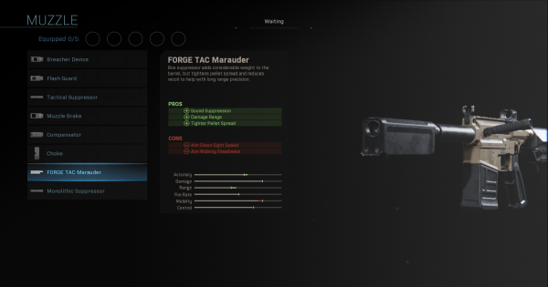 【Warzone】FORGE TAC Marauder - Muzzle Stats【Call of Duty Modern Warfare】 - GameWith