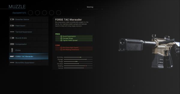 Warzone | FORGE TAC Marauder - Muzzle Stats | Call of Duty Modern Warfare - GameWith