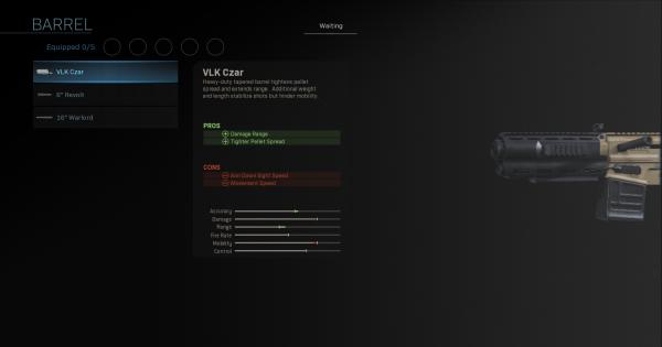 【Warzone】VLK Czar - Barrel Stats【Call of Duty Modern Warfare】 - GameWith