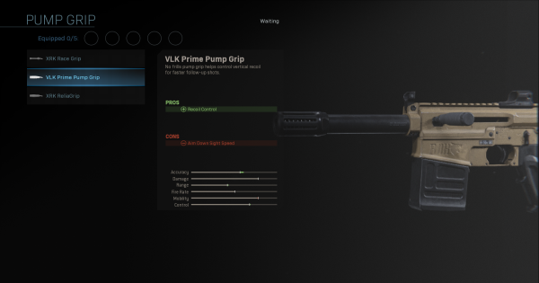 【Warzone】VLK Prime Pump Grip - Pump Stats【Call of Duty Modern Warfare】 - GameWith