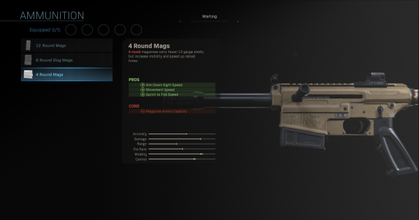 【Warzone】4 Round Mags - Magazine Stats【Call of Duty Modern Warfare】 - GameWith