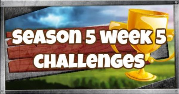 Fortnite | Season 5 Week 5 Challenges Guide