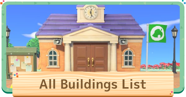 Animal Crossing New Horizons | All Buildings (Facilities) List & How To Unlock | Animal Crossing Switch