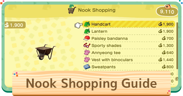 【Animal Crossing New Horizons】Nook Shopping - How To Get App & Delivery Time【Animal Crossing Switch】 - GameWith