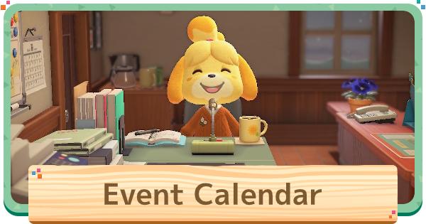 ACNH | Event Calendar | Animal Crossing - GameWith