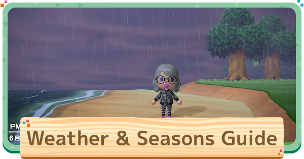 ACNH | Weather & Seasons Guide - Changes & Differences | Animal Crossing - GameWith