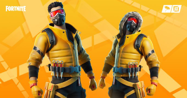Fortnite | CAUTION Skin - Set & Styles - GameWith