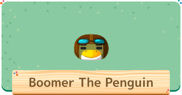 ACNH | Boomer The Penguin Villager - Basic Info & Personality | Animal Crossing - GameWith