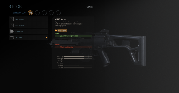 Warzone | XRK Axis - Stock Stats | Call of Duty Modern Warfare - GameWith