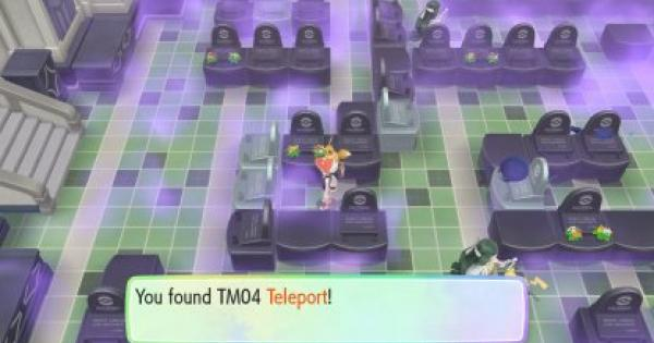 Pokemon Let's Go | Teleport (TM 04) : Move Stats, Pokemon & Where to Get | Pikachu / Eevee - GameWith