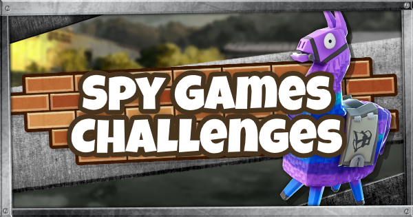 Fortnite | Spy Games Challenges - GameWith