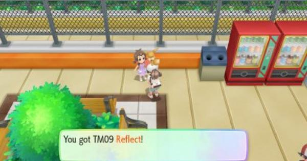 Pokemon Let's Go | Reflect (TM 09) : Move Stats, Pokemon & Where to Get