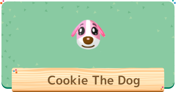 ACNH | Cookie The Dog Villager - Basic Info & Personality | Animal Crossing - GameWith