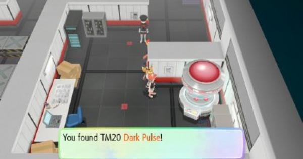 Pokemon Let's Go | Dark Pulse (TM 20) : Move Stats, Pokemon & Where to Get | Pikachu / Eevee - GameWith