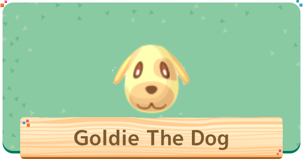 ACNH | Goldie The Dog Villager - Basic Info & Personality | Animal Crossing - GameWith