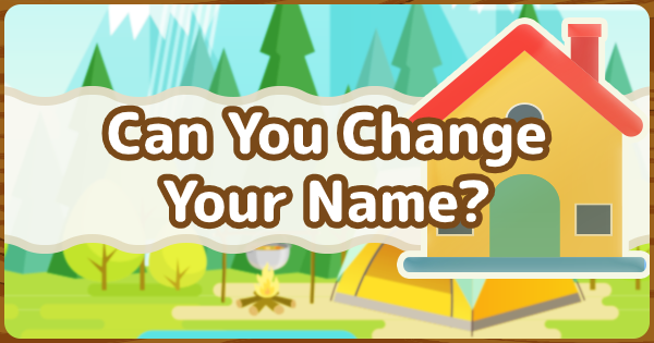 ACNH | Can You Change Your Name? | Animal Crossing - GameWith