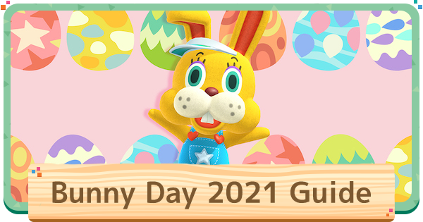 Animal Crossing New Horizons | Bunny Day Event Guide | Animal Crossing Switch