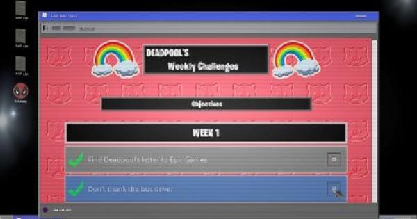 Fortnite | Big Black Marker Location (DEADPOOL Challenge) - GameWith