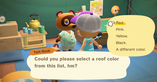 ACNH | Roof Color - Options & Change | Animal Crossing - GameWith