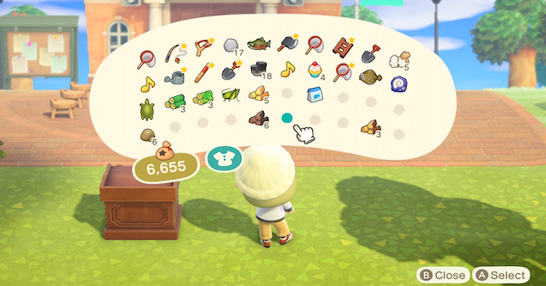 【Animal Crossing】Inventory - Ultimate Pocket Stuffing【ACNH】 - GameWith