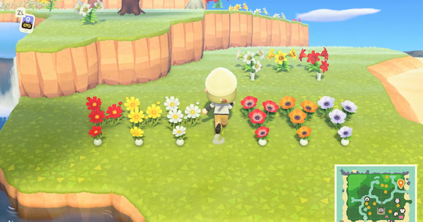 ACNH | How To Plant Flowers | Animal Crossing - GameWith