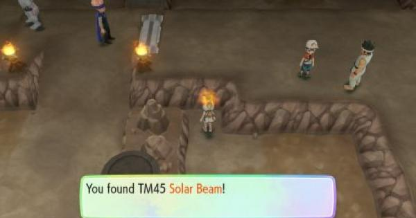 Pokemon Let's Go | Solar Beam (TM 45) : Move Stats, Pokemon & Where to Get | Pikachu / Eevee - GameWith