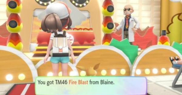Pokemon Let's Go | Fire Blast (TM 46) : Move Stats, Pokemon & Where to Get | Pikachu / Eevee - GameWith