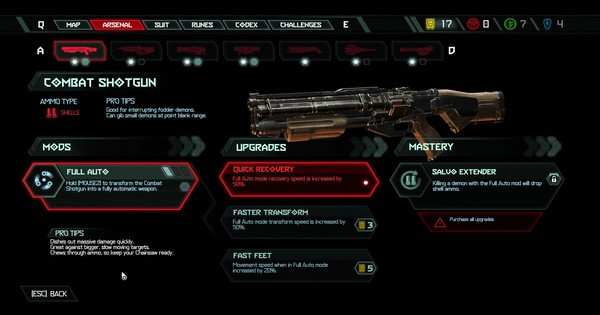 DOOM Eternal | Combat Shotgun - All Mods & Upgrade - GameWith