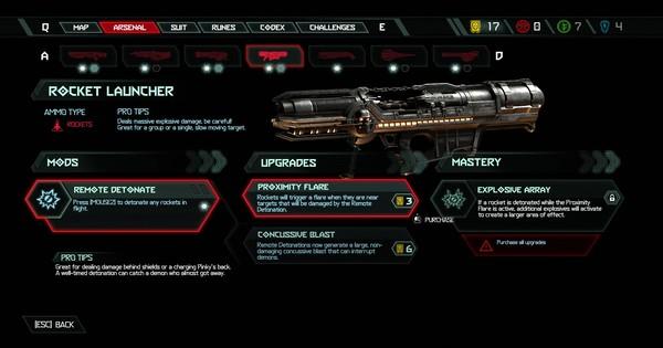 DOOM Eternal   Rocket Launcher - All Mods & Upgrade - GameWith