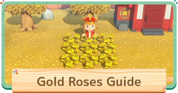 ACNH | Golden Roses - How To Get & Selling Price | Animal Crossing - GameWith