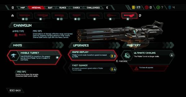 DOOM Eternal | Chaingun - All Mods & Upgrade - GameWith