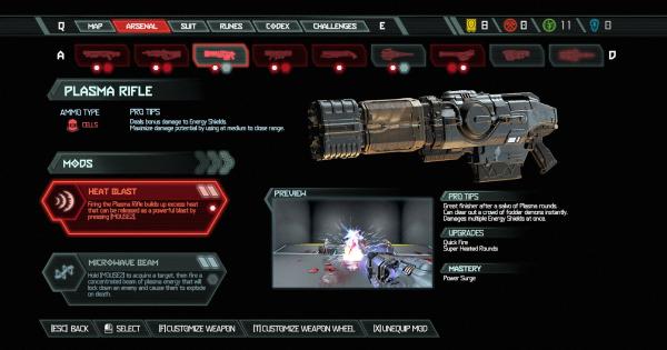 Plasma Rifle - All Mods & Upgrade